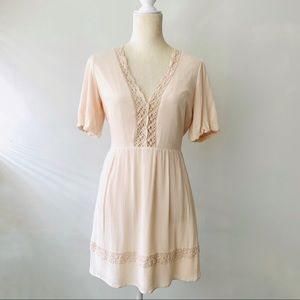 ✨Forever 21 Peasant Boho Summer Lace Dress✨